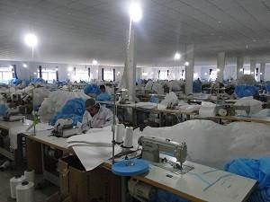 עובדי מפעל בסין